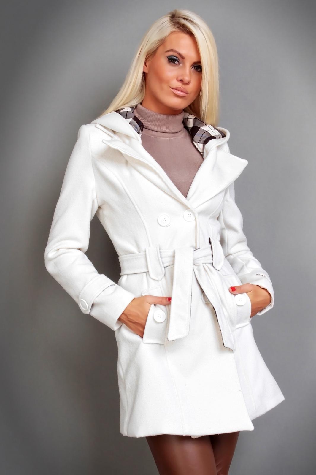 damen winter jacke mantel wolljacke mit kapuze 5 farben ebay. Black Bedroom Furniture Sets. Home Design Ideas