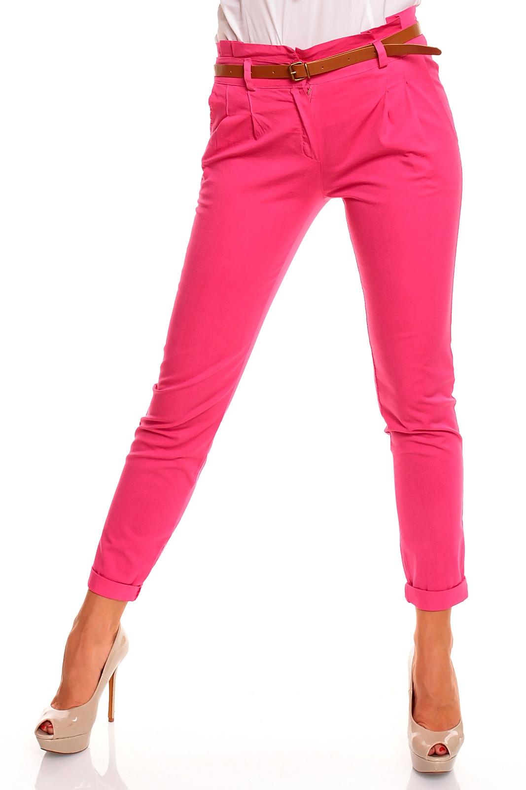 damen chino hose stoffhose jeans freizeithose 9 farben. Black Bedroom Furniture Sets. Home Design Ideas