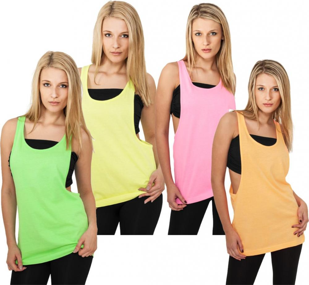 urban classics ladies loose neon tanktop damen tanktop. Black Bedroom Furniture Sets. Home Design Ideas
