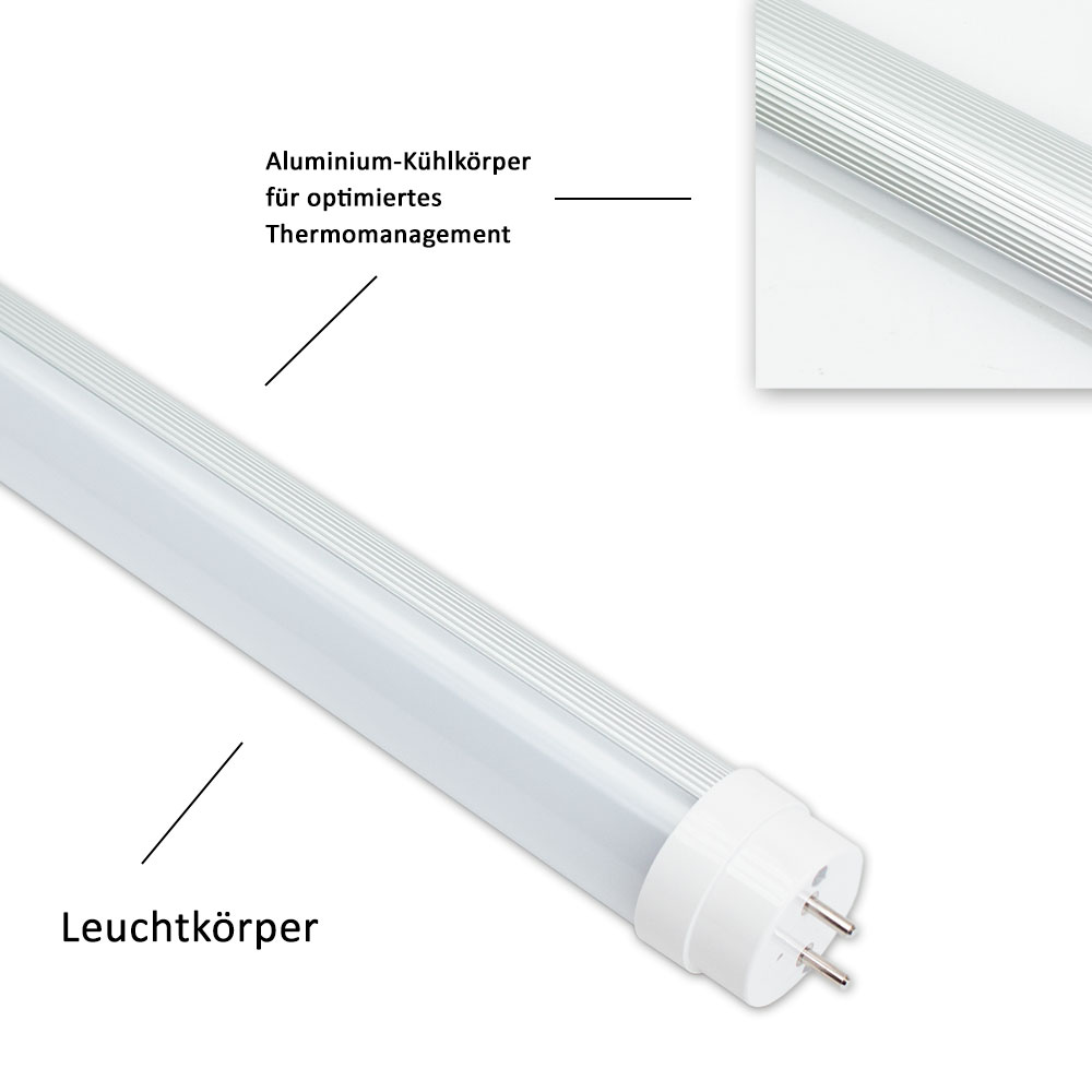 uebex led tube t8 g13 2450lm 4000k leuchtstoffr hre led smd r hre 23w ebay. Black Bedroom Furniture Sets. Home Design Ideas
