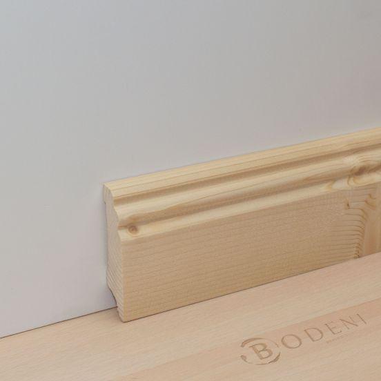 sockelleiste altberliner hamburger profil fichte astig. Black Bedroom Furniture Sets. Home Design Ideas