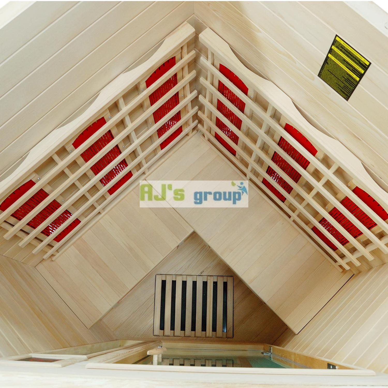 infrarotkabine vancouver w rmekabine infrarotsauna sauna. Black Bedroom Furniture Sets. Home Design Ideas