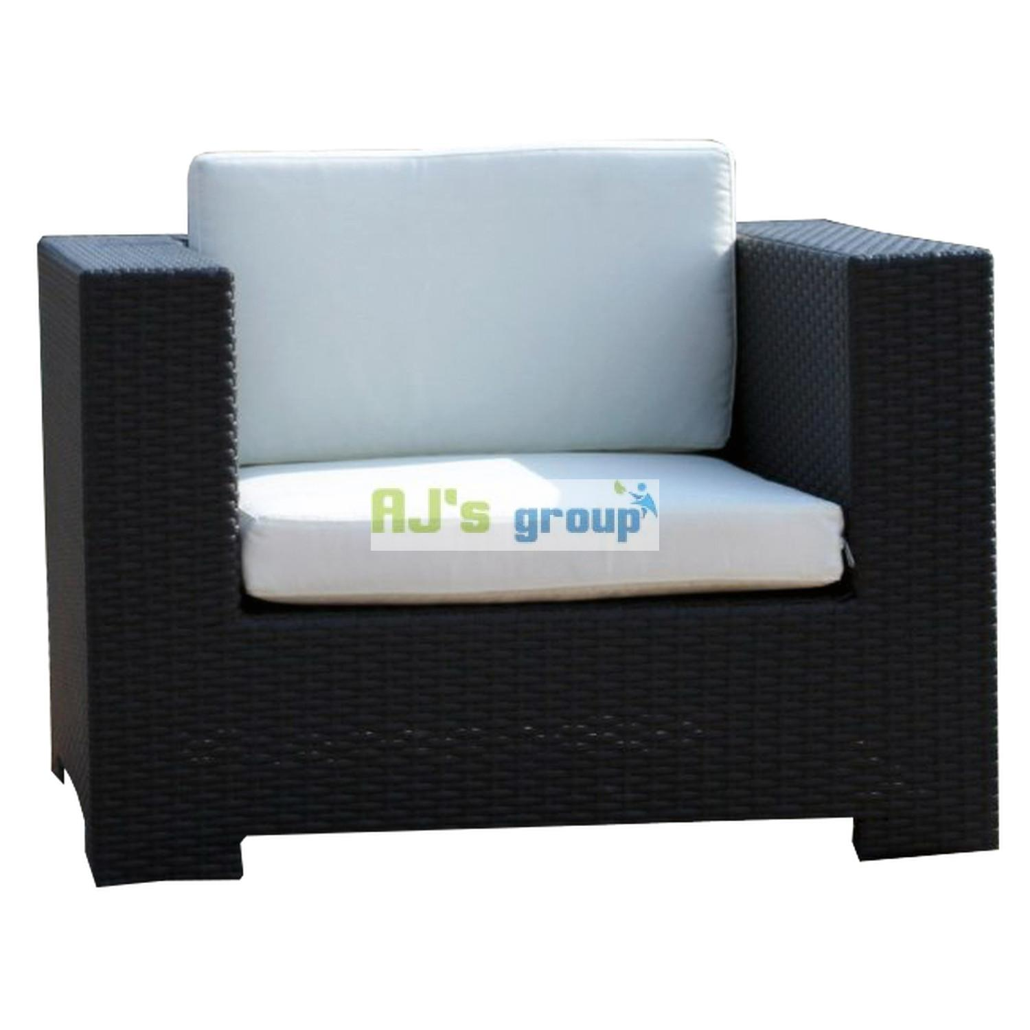 poly rattan gartenm bel los angeles alu gartenset garnitur lounge sitzgruppe ebay. Black Bedroom Furniture Sets. Home Design Ideas