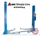 2 Säulen Hebebühne 4,0T Modell Alwo-Simply-Line