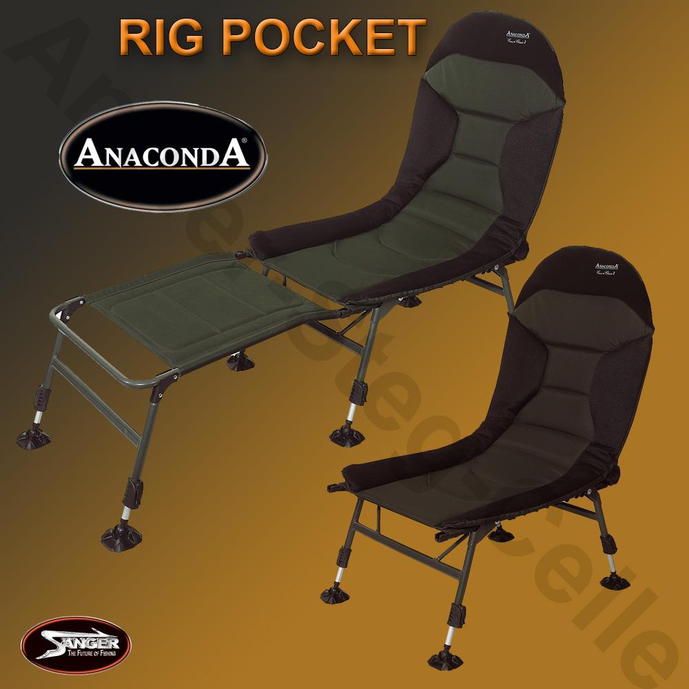 anaconda crown carp chair ii angelstuhl campingstuhl. Black Bedroom Furniture Sets. Home Design Ideas
