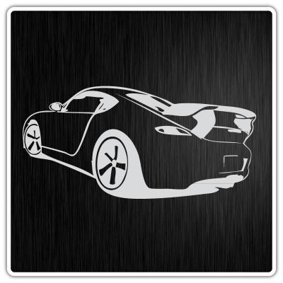 02c02 sticker auto car tuning aufkleber ferrari porsche - Wandtattoo ferrari ...