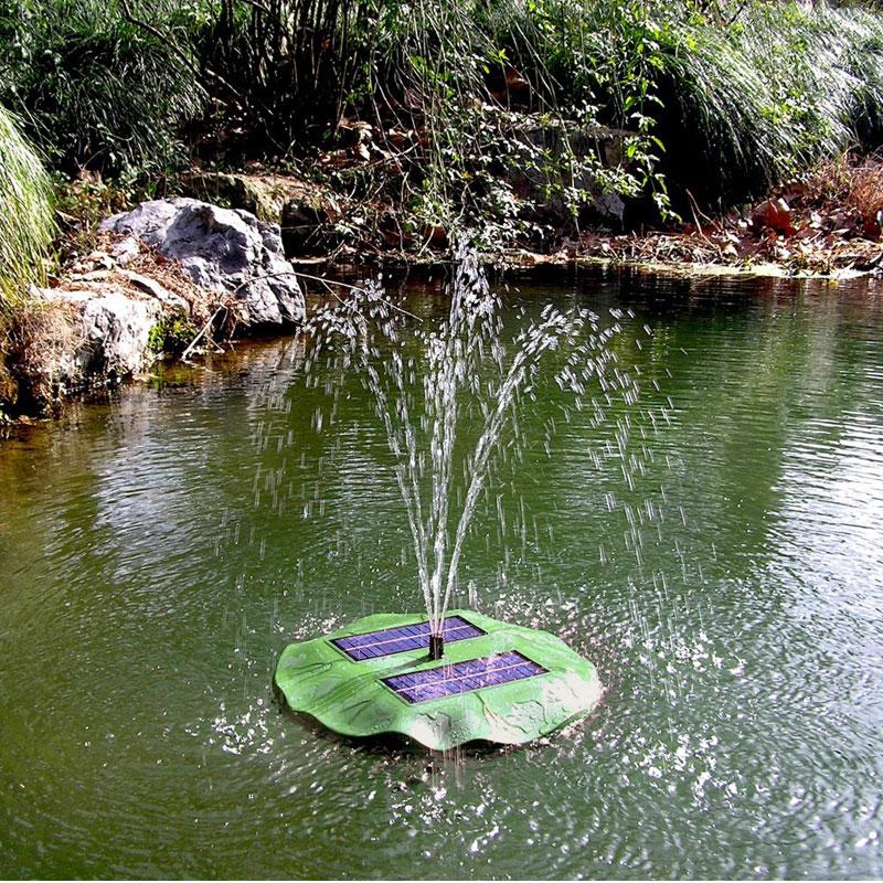 Solar teichpumpe gartenteich springbrunnen - Gartenteich springbrunnen ...