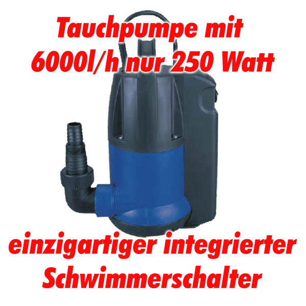 250 w pumpe wasserpumpe gartenpumpe tauchpumpe regenfasspumpe schwimmerschalter ebay. Black Bedroom Furniture Sets. Home Design Ideas