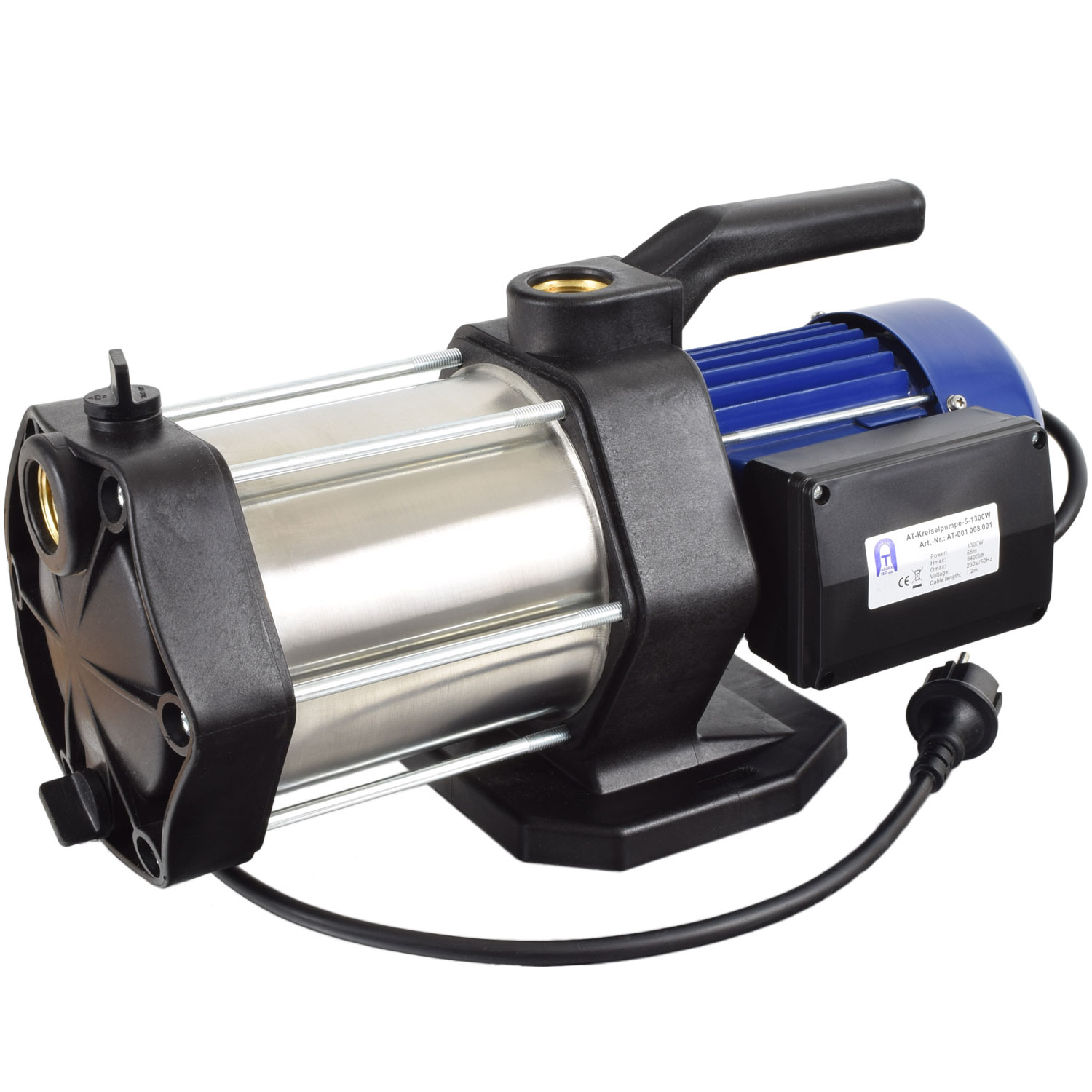 kreiselpumpe gartenpumpe edelstahl hauswasserwerk. Black Bedroom Furniture Sets. Home Design Ideas