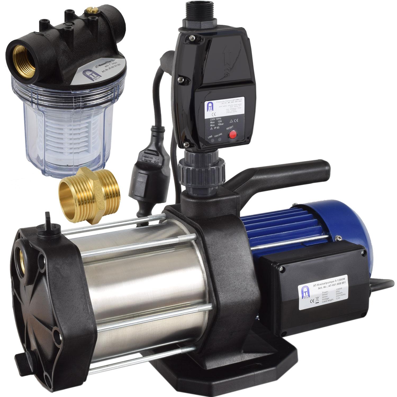 hauswasserautomat hauswasserwerk garten pumpe druckschalter vorfilter filter. Black Bedroom Furniture Sets. Home Design Ideas