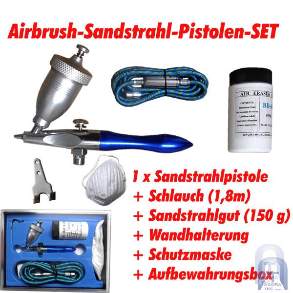 airbrush pistole eraser gun sandstrahlpistole sandstrahlen. Black Bedroom Furniture Sets. Home Design Ideas