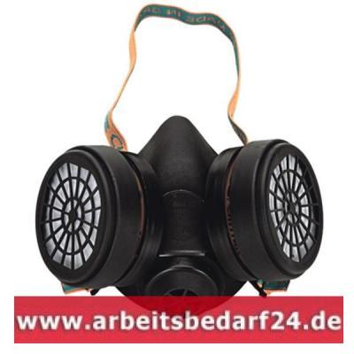 Profi-Atemschutz-Halbmaske-mit-Filtern-A2-Gasmaske-Staubmaske-Atemschutzmaske