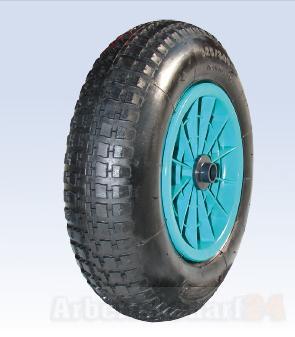 400 mm roue de brouette avec pneu conflable jante en pvc. Black Bedroom Furniture Sets. Home Design Ideas