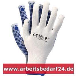 12 paar Arbeitshandschuhe, Handschuhe mit Noppen Montagenhanschuhe Qualität