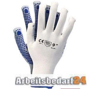 48 Paar Profi Arbeitshandschuhe mit Noppen Handschuhe Noppenhandschuhe