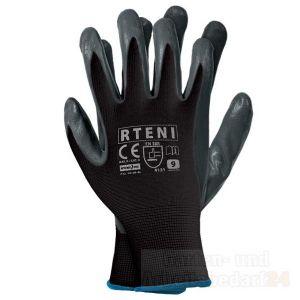 12 Paar Nitril Handschuhe Arbeitshandschuhe Schutzhandschuhe Handschu Gr. 7 - 10