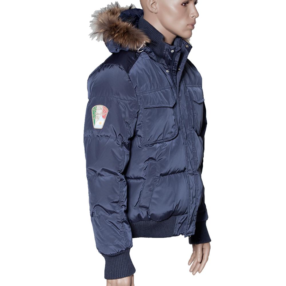 Jacken marke mit italienischer flagge