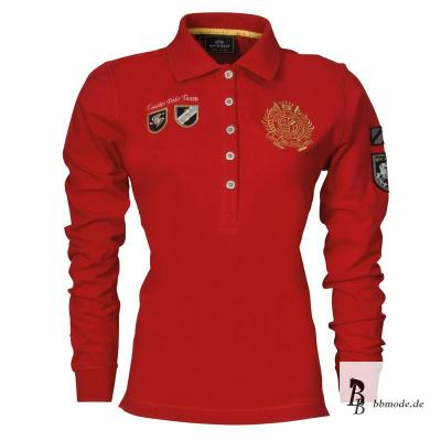 hv polo damen langarm polo shirt kesara red rot winter 2012 13 neu ebay. Black Bedroom Furniture Sets. Home Design Ideas