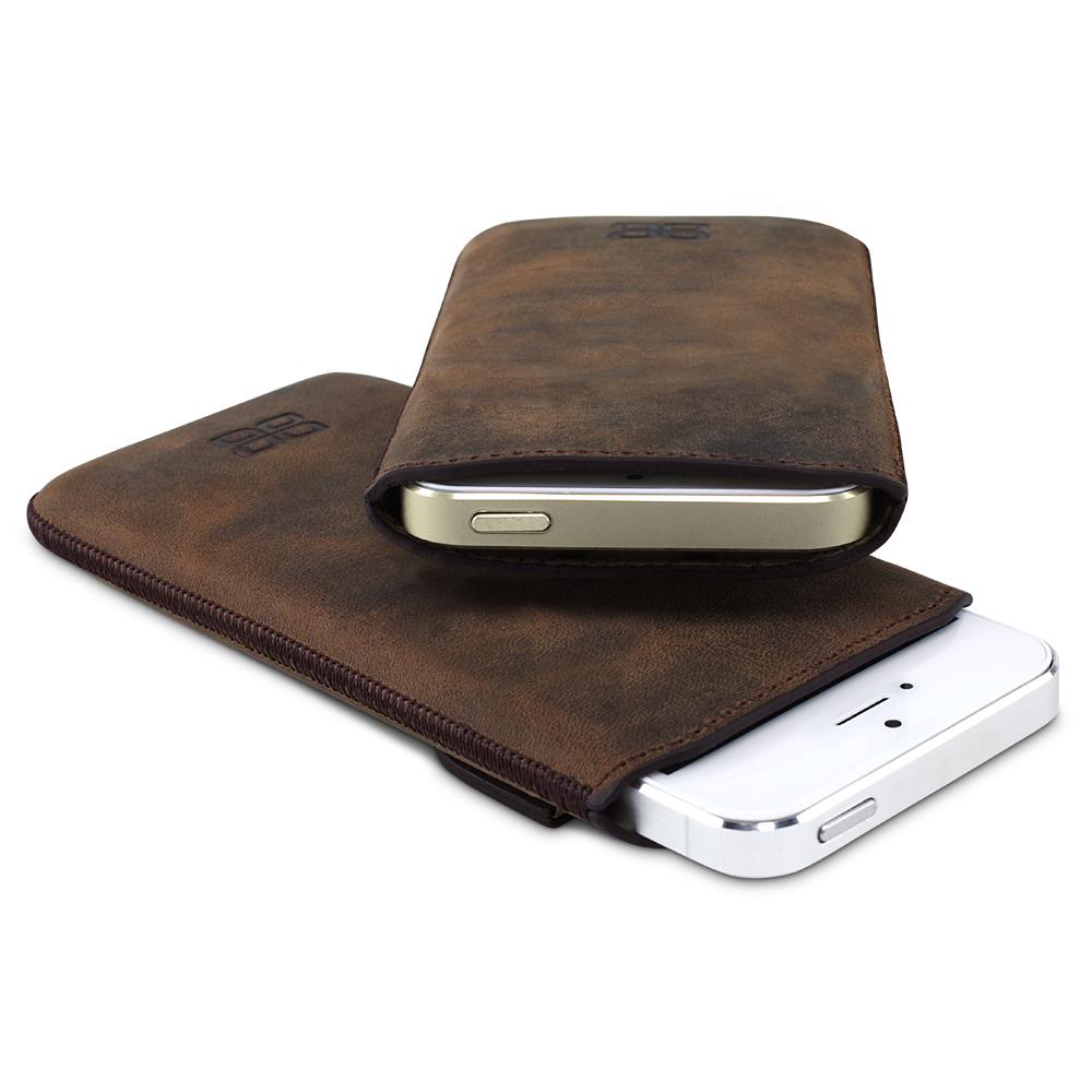 echt leder iphone 5s 5 bouletta optimum antik braun h lle. Black Bedroom Furniture Sets. Home Design Ideas