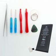 Original Apple iPhone 5 Akku 1440 mAh Li-Ion Polymer Batterie inkl. Werkzeugset