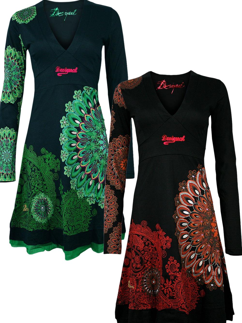 Kleider langarm desigual