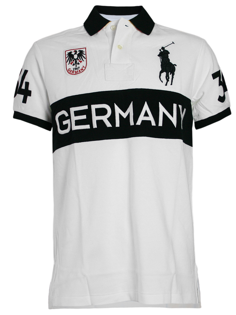 ralph lauren herren big pony polo shirt germany 34 wei. Black Bedroom Furniture Sets. Home Design Ideas