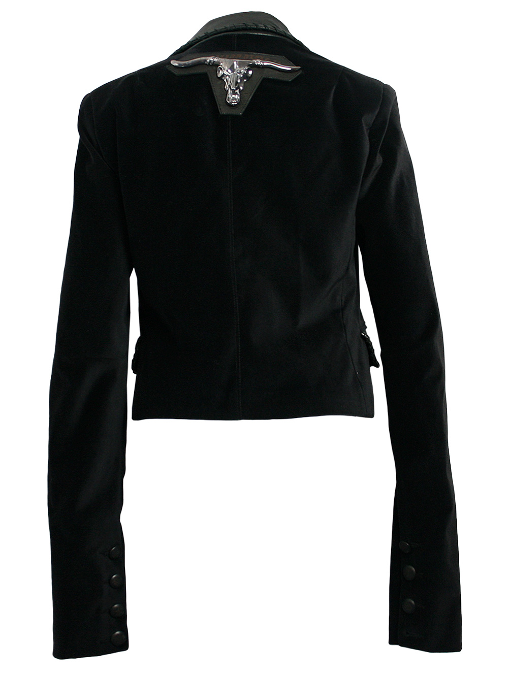 philipp plein damen blazer jacke in schwarz bull neu sehr edel gr l ebay. Black Bedroom Furniture Sets. Home Design Ideas