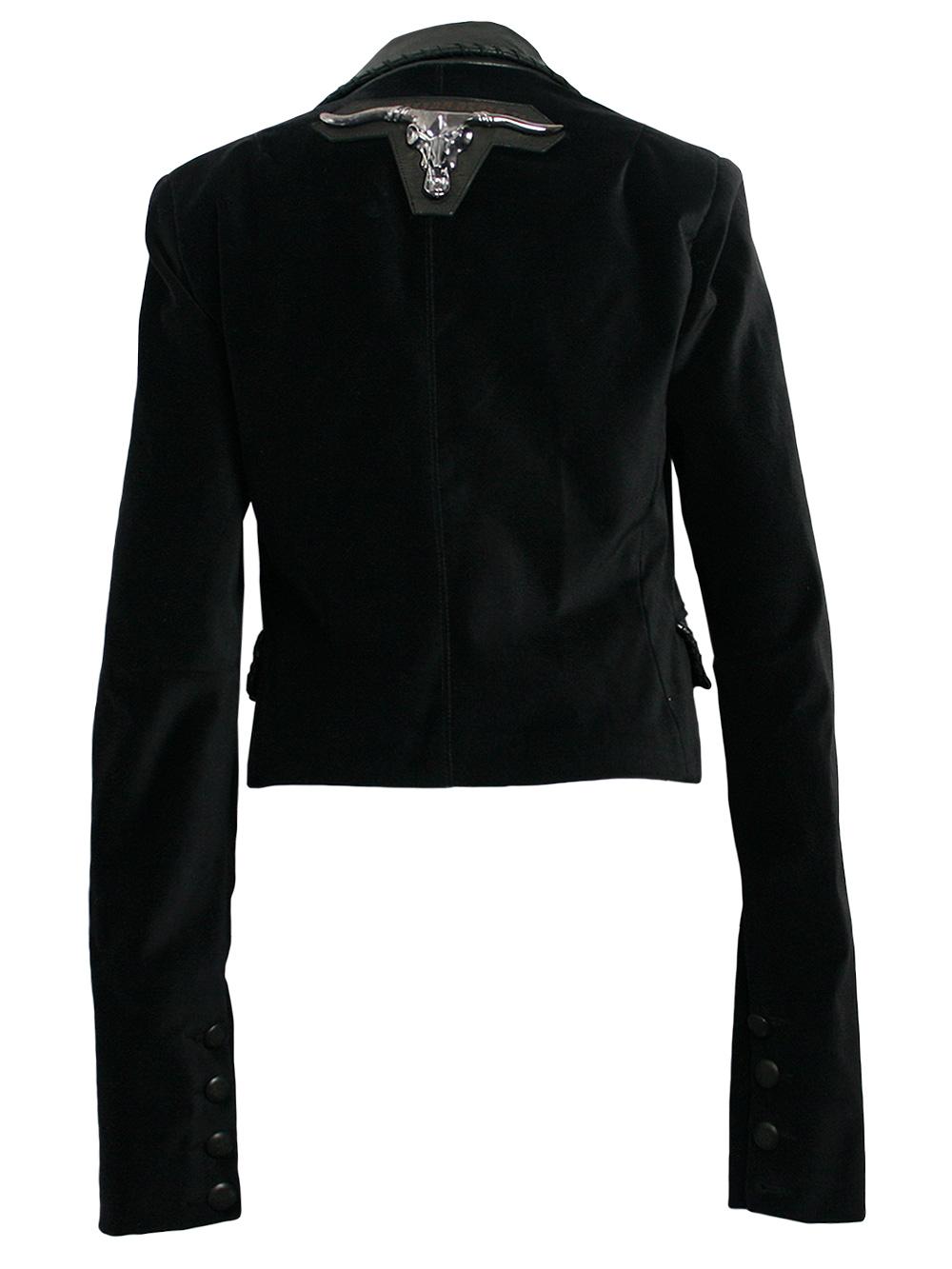 philipp plein damen blazer jacke in schwarz bull neu sehr edel gr l ebay. Black Bedroom Furniture Sets. Home Design Ideas