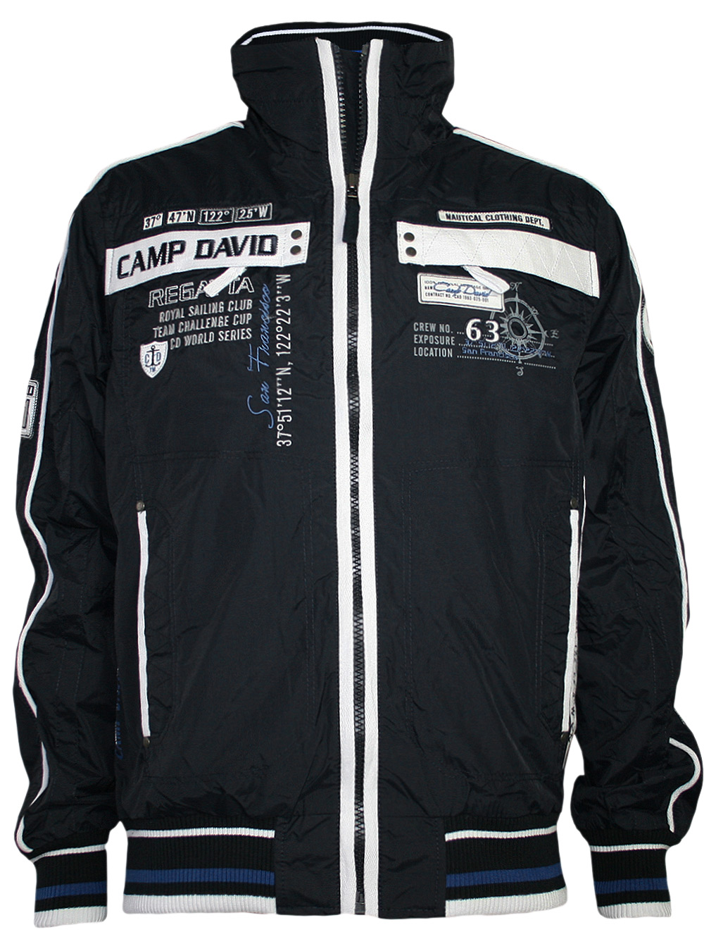 tolle camp david herren jacke sailing cup 3 in navy. Black Bedroom Furniture Sets. Home Design Ideas