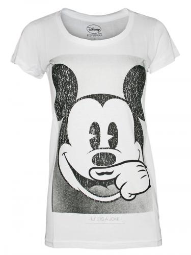 ELEVEN-PARIS-Damen-Top-Shirt-Boom-Mickey-Mouse-Deb-bap-NEU-in-weiss