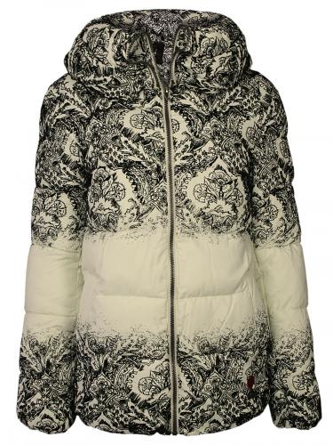 edle desigual damen winter mantel jacke videmode in algodon beige neu ebay. Black Bedroom Furniture Sets. Home Design Ideas
