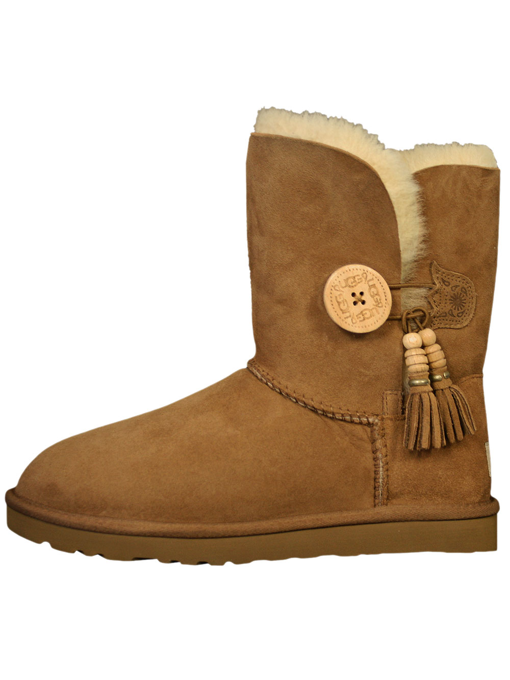 ugg boots damen lammfell schuhe stiefel bailey charms neu winter eyecatcher ebay. Black Bedroom Furniture Sets. Home Design Ideas