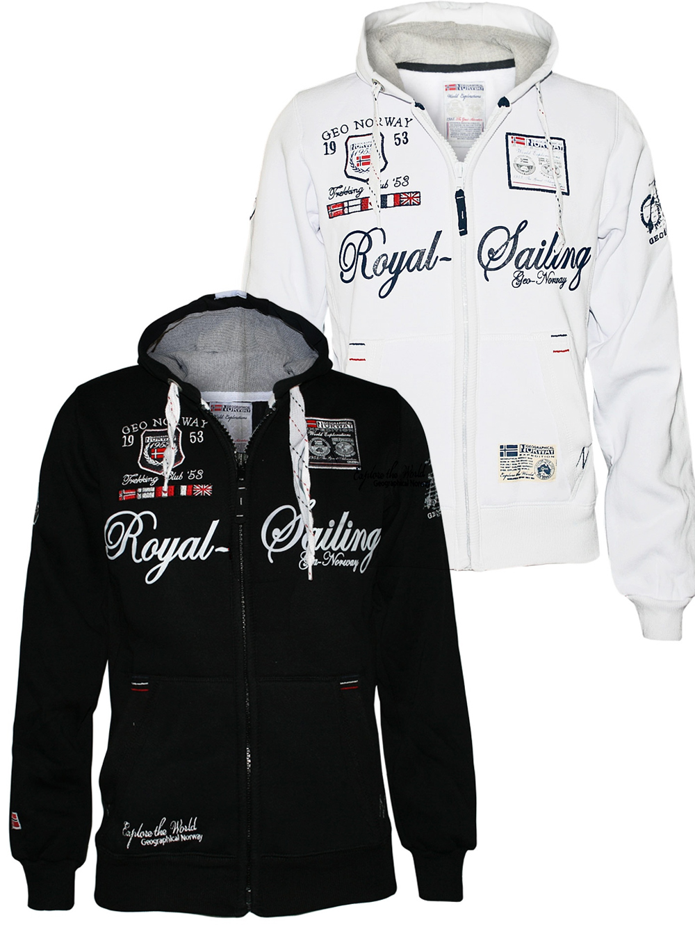 geographical norway hoodie camp sweatjacke jacke david kapuzenpullover gr m 3xl ebay. Black Bedroom Furniture Sets. Home Design Ideas