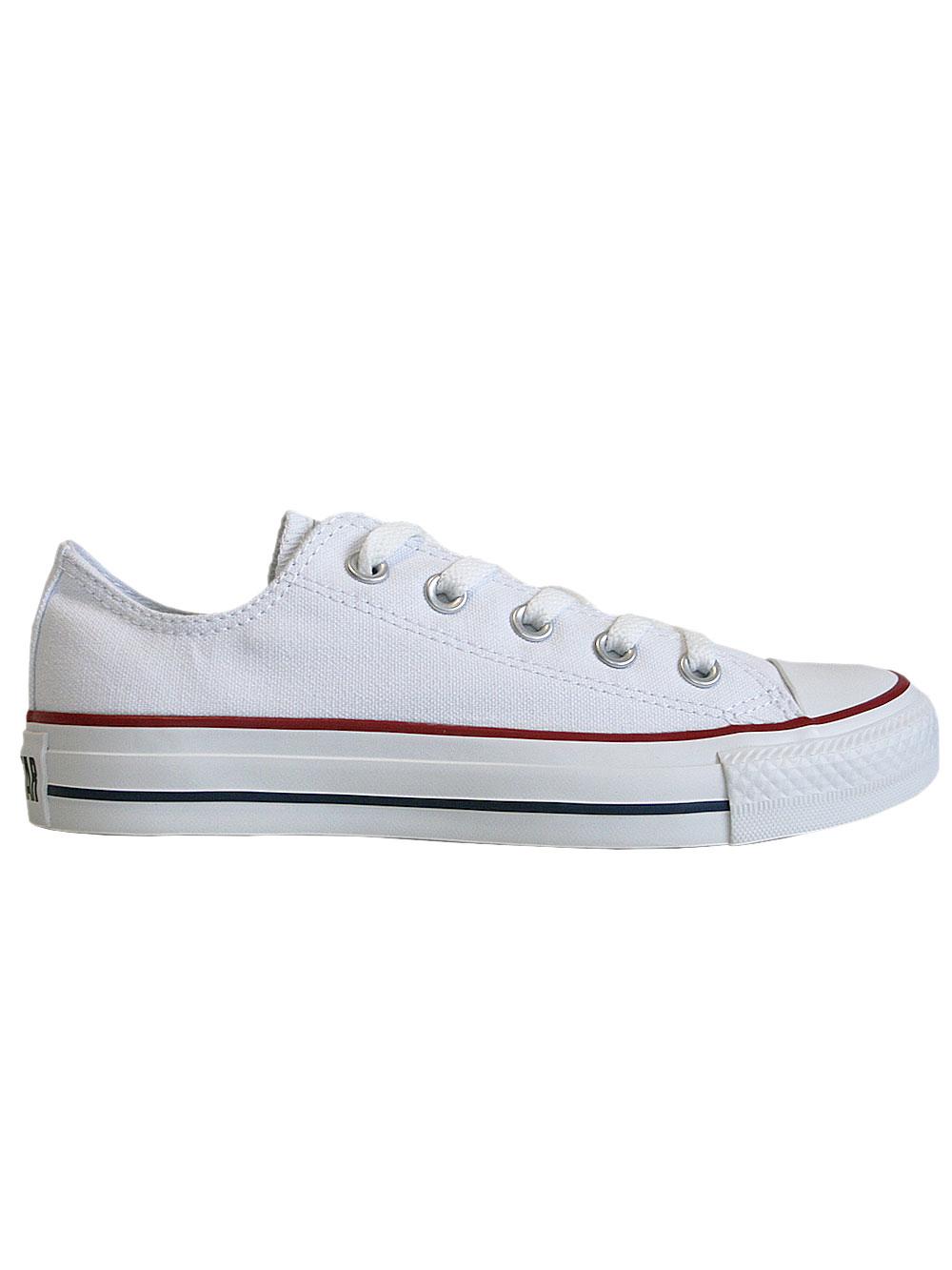 CONVERSE Chucks All Star Klassik Low Schuhe Sneaker * M7652* weiss NEU+OVP!