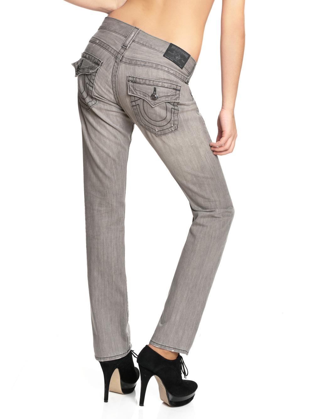 true religion damen jeans jordan straight wagoneer neu ebay. Black Bedroom Furniture Sets. Home Design Ideas