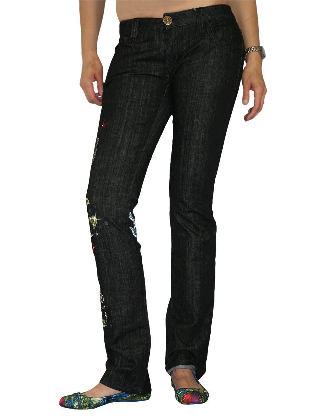 edle philipp plein damen strass jeans lovely birds in. Black Bedroom Furniture Sets. Home Design Ideas