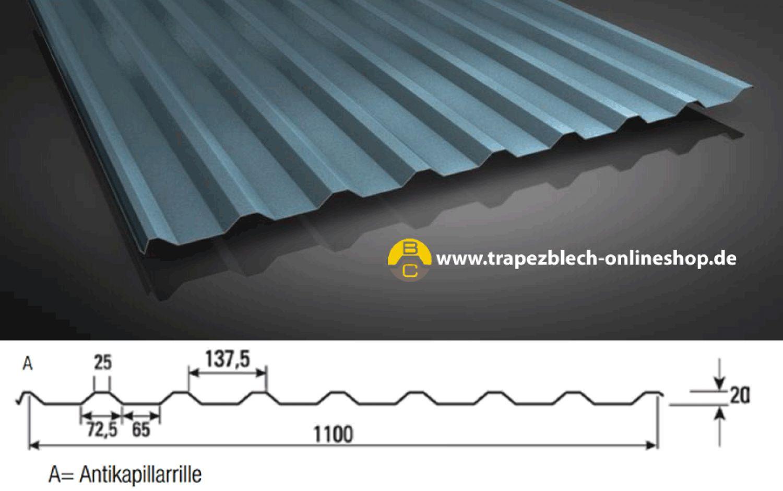 sonderposten trapezblech 20 138 dach carport trapezbleche. Black Bedroom Furniture Sets. Home Design Ideas