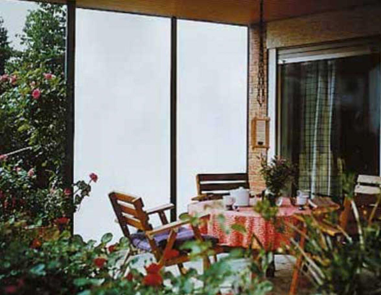 Acrylglas glatte Kunststoffplatte Balkonverkleidung Sichtschutz