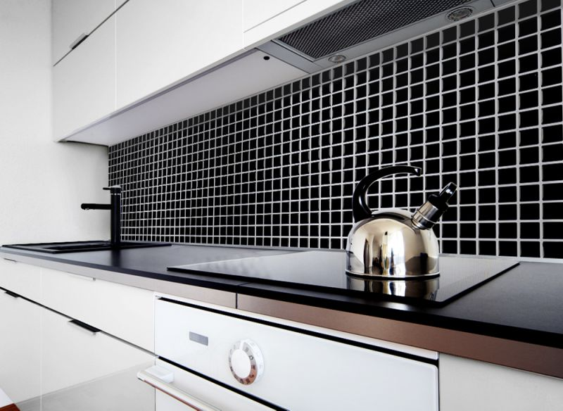 4 st ck fliesenaufkleber 3d fliesenfolie wandaufkleber fliesensticker k che bad ebay. Black Bedroom Furniture Sets. Home Design Ideas
