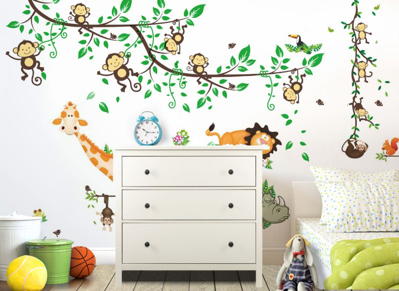 wandtattoo wandaufkleber wandsticker xxl kinderzimmer. Black Bedroom Furniture Sets. Home Design Ideas