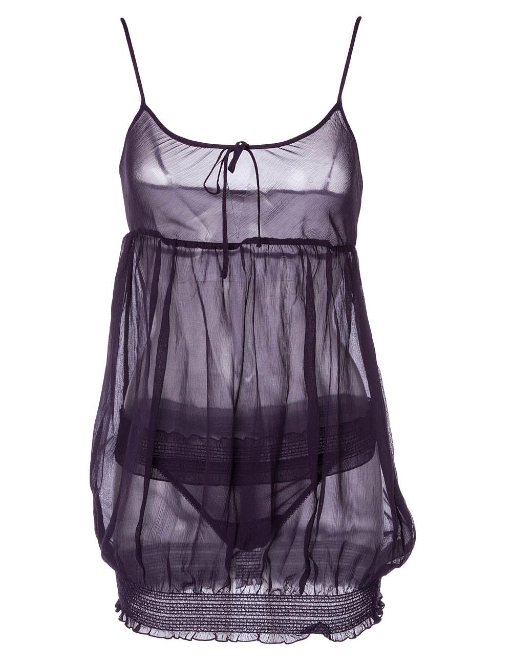 chantal thomass paris lingerie violet taille 34 xs 100 soie. Black Bedroom Furniture Sets. Home Design Ideas