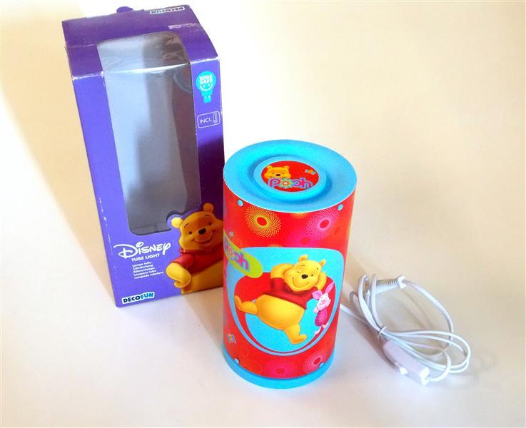 decofun 87020 tube rohrlampe winnie pooh disney kinderlampe lampe ebay. Black Bedroom Furniture Sets. Home Design Ideas