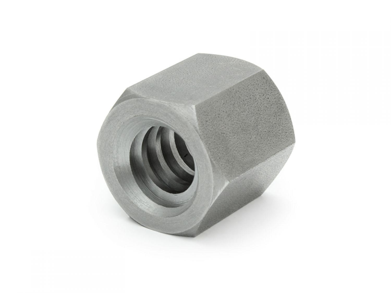 Trapezgewindemutter eskm 22x5 derecha acero hexagonal sw30l33