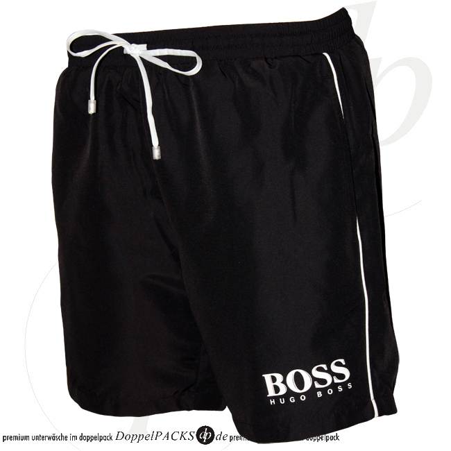 hugo boss badeshorts neu t rkis rot schwarz badehose boxer short schwimmshorts s ebay. Black Bedroom Furniture Sets. Home Design Ideas