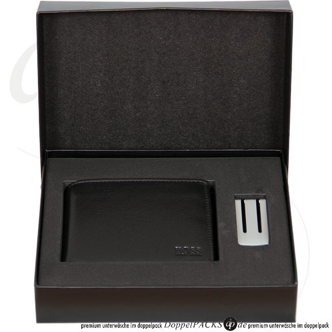 hugo boss neu echt leder herren brieftasche geldklammer. Black Bedroom Furniture Sets. Home Design Ideas