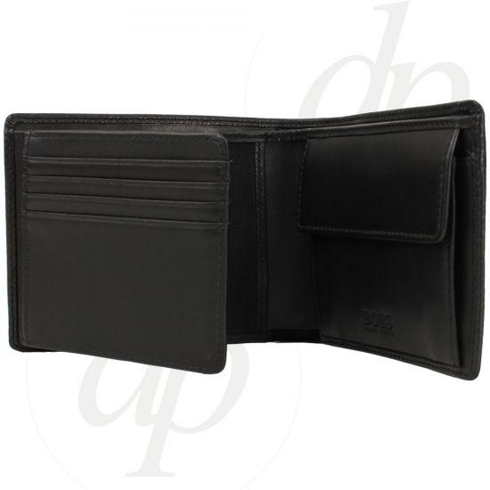 hugo boss herren brieftasche monad braun schwarz geldb rse. Black Bedroom Furniture Sets. Home Design Ideas