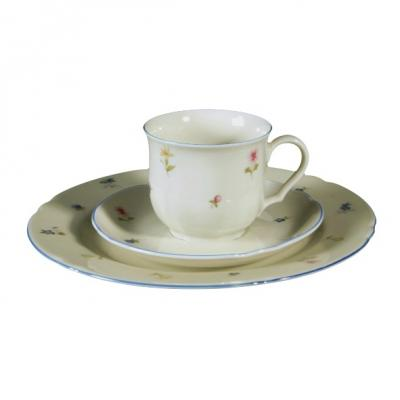 seltmann weiden marie luise streublume kaffeeservice 18 tlg mit blauem rand neu ebay. Black Bedroom Furniture Sets. Home Design Ideas