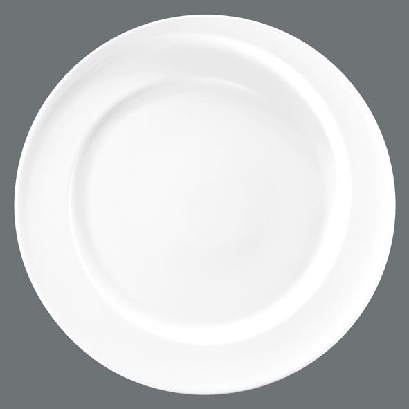 seltmann weiden paso white uni plate flat round 33 cm dinner plate new ebay. Black Bedroom Furniture Sets. Home Design Ideas