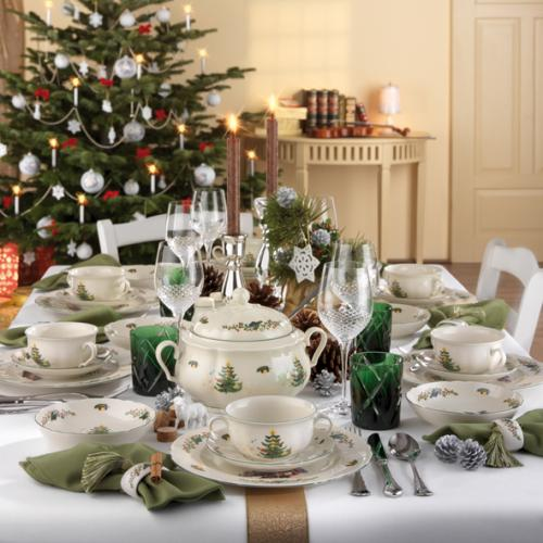 seltmann weiden marie luise weihnachten tafelservice 16. Black Bedroom Furniture Sets. Home Design Ideas