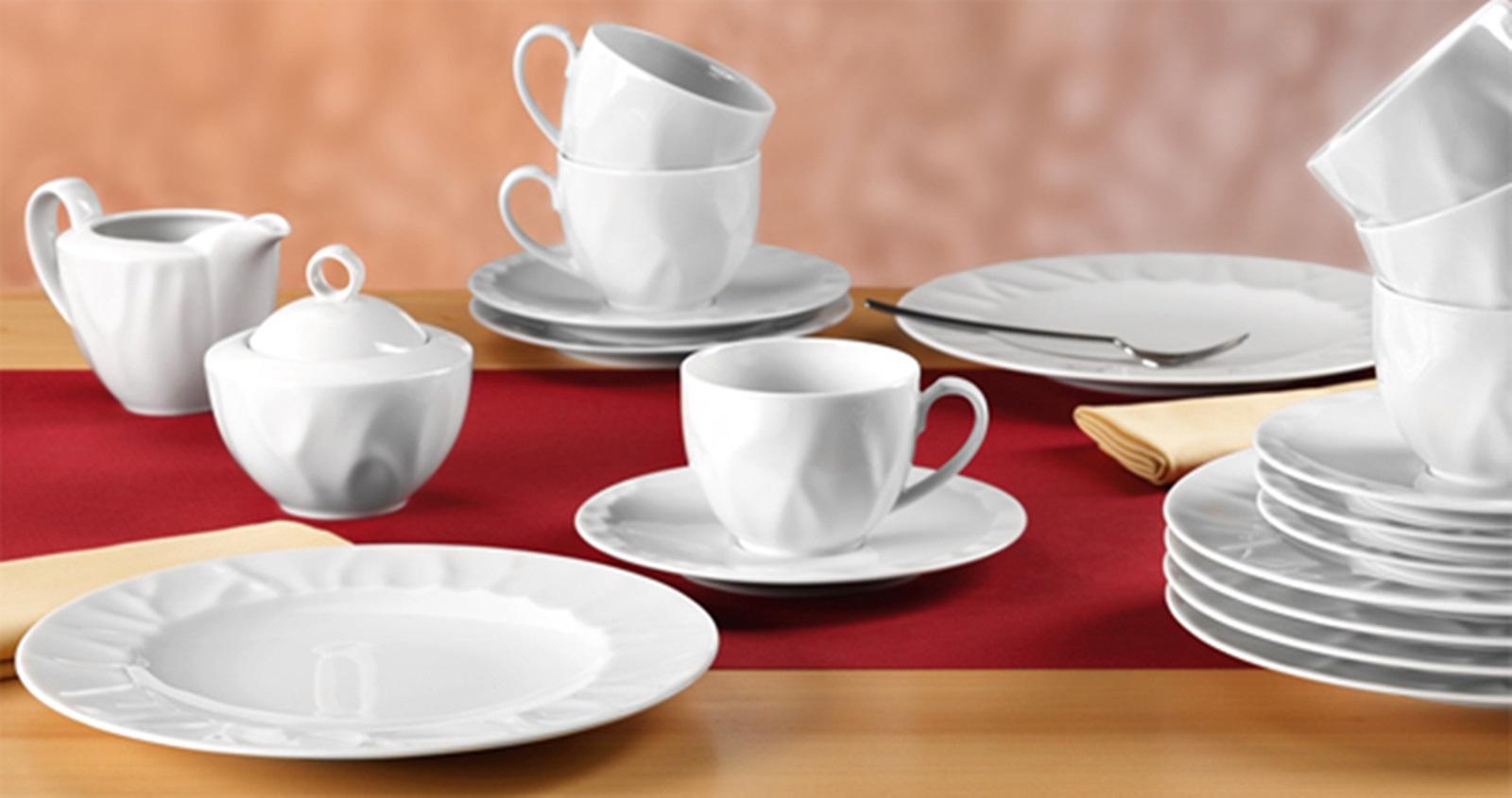 seltmann weiden venice weiss uni kaffeeservice 20 tlg t neu ebay. Black Bedroom Furniture Sets. Home Design Ideas